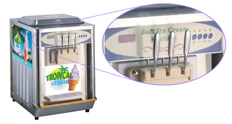 Tropical Ice Ice Cream Machine