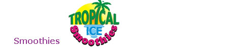 Tropical Ice Smoothies